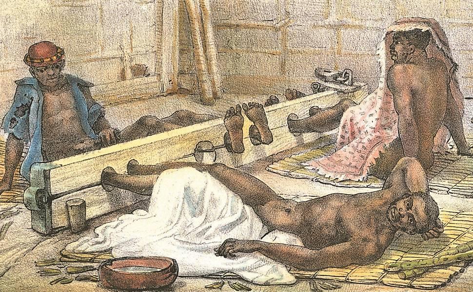 Slave housing Jean-Baptiste Debret