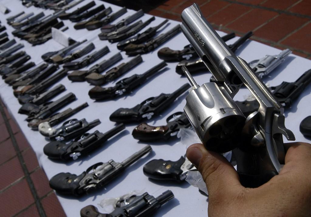 gun trafficking brazil