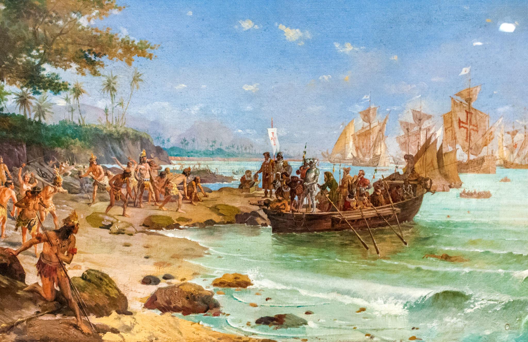 Brazil colonization portugal colonial Brazil
