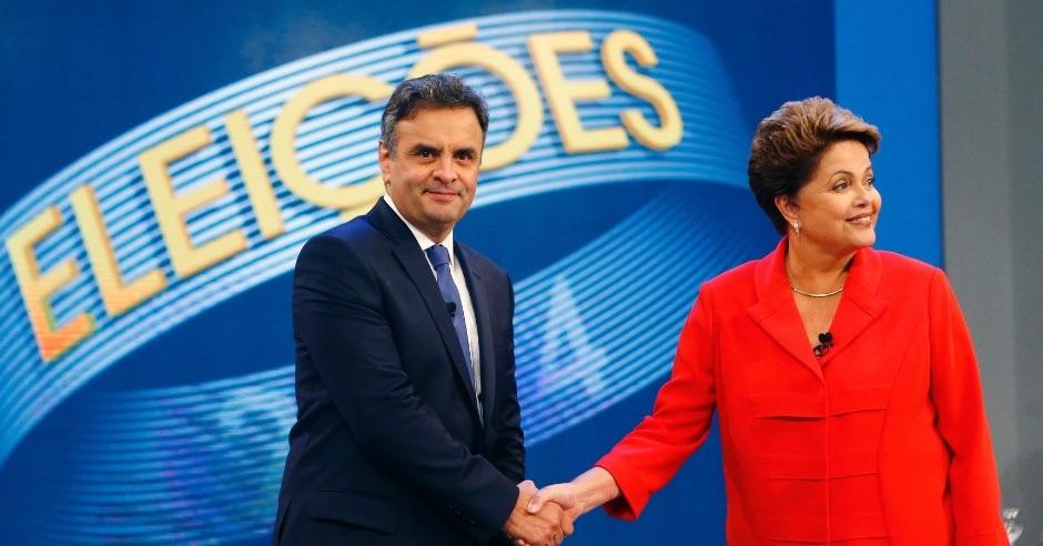 Dilma Rousseff Senator Aecio Neves Brazil presidential elections