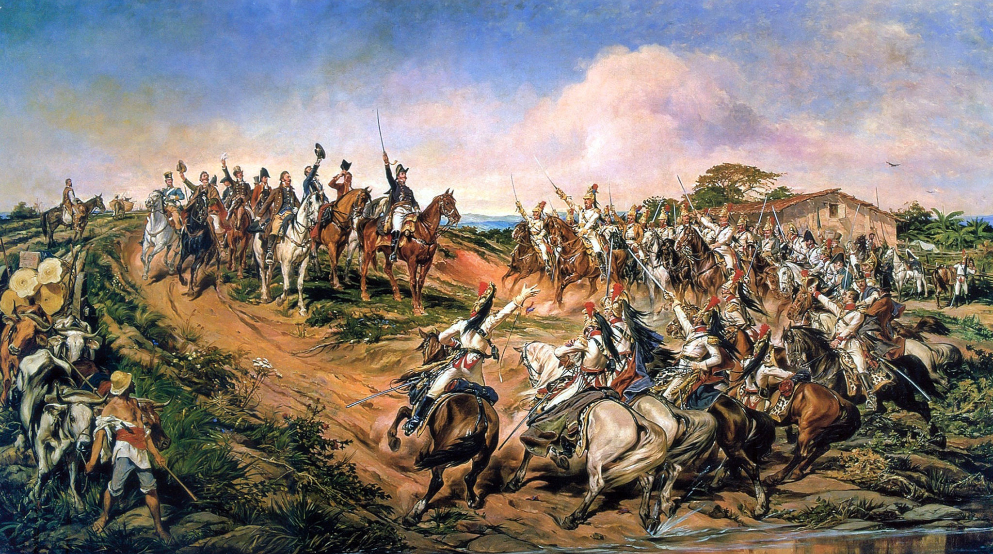 Independence of Brazil painting by Pedro Americo