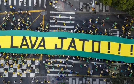 Brazil protests operation car wash
