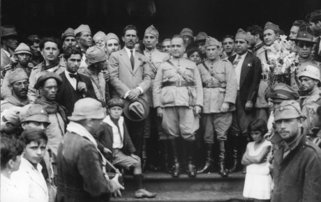 Getulio Vargas after seizing power, in 1930