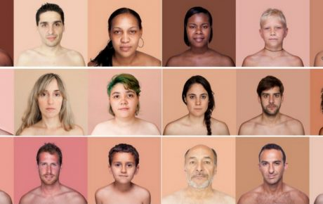 Angelica Dass skin color Pantone project race