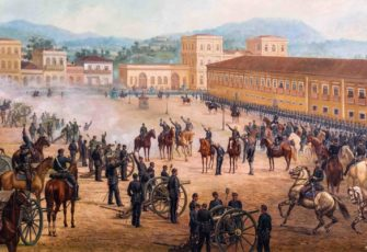 Proclamation of the Republic. Painting by Benedito Calixto