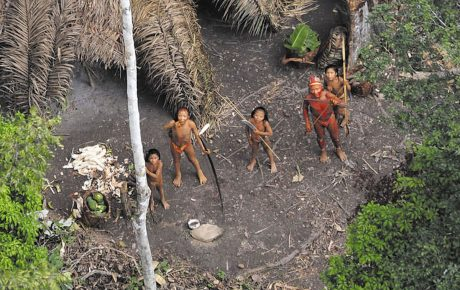 isolated indigenous tribe Amazon brazil