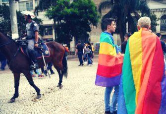Brazil LGBTQ rights Andre Fischer