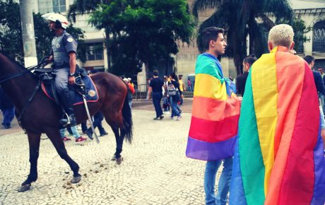 Brazil LGBTQ rights Andre Fischer