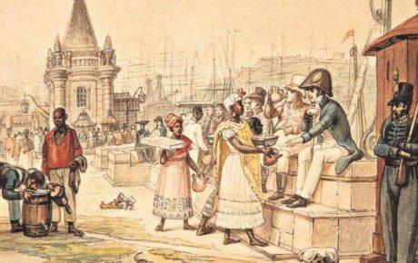 Rio de Janeiro - illustration Jean-Baptiste Debret