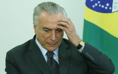 Federal Police make arrest in bribery case involving Brazil's President Temer