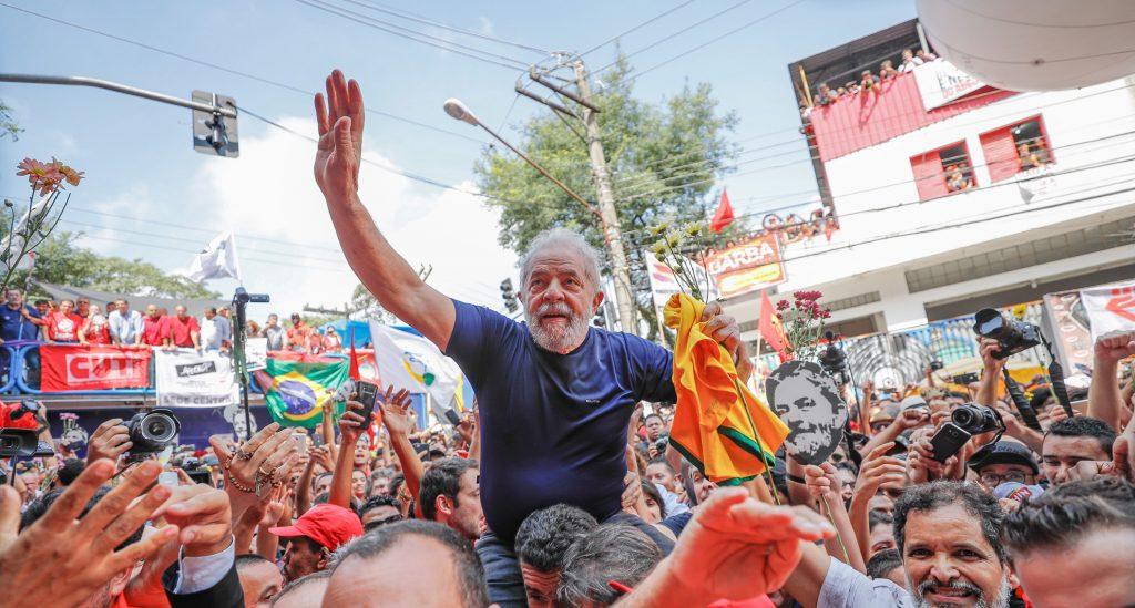 Brazilian left lula arrested