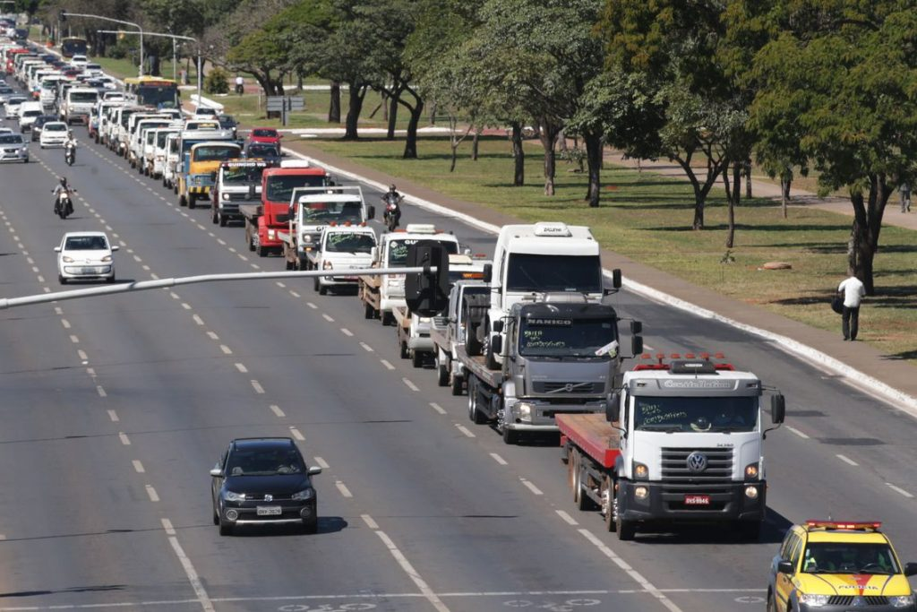 petrobras CEO truckers protest brazil