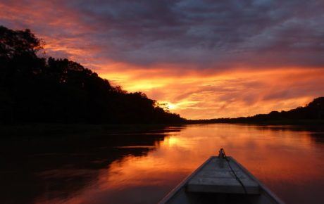 The Amazon at sunset. Mark Abrahams, Author provided
