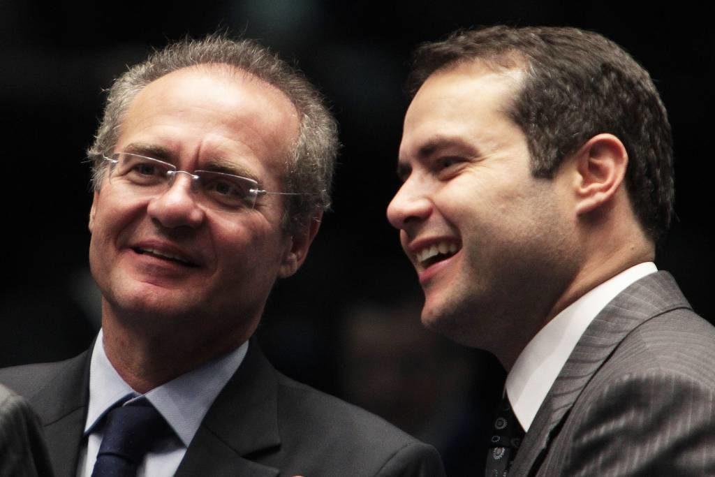 Sen. Renan Calheiros and his son, 'Little Renan'