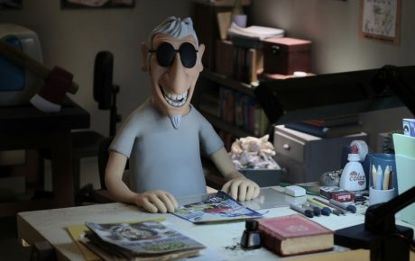 "Scene from Brazilian animation Angeli the Killer ""A Crazy Love's Delirium"""