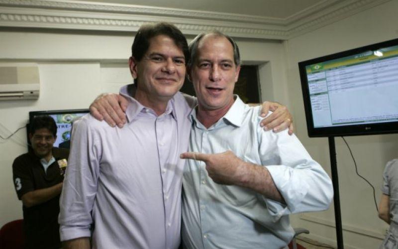 Cid (L) and Ciro Gomes (R)