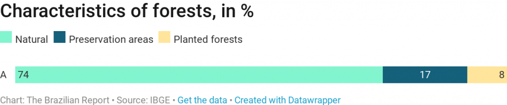 Brazilian agribusiness forests