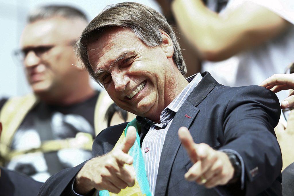 2018 election BRAZIL POLITICS CAMPAIGN BOLSONARO