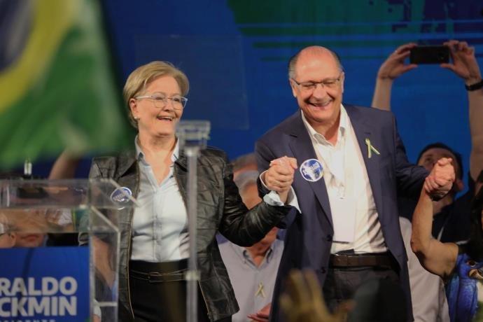 alckmin ana amelia 2018 brazil presidential race vice president