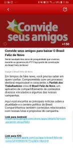 brasil feliz de novo app illegal online campaigning scandal
