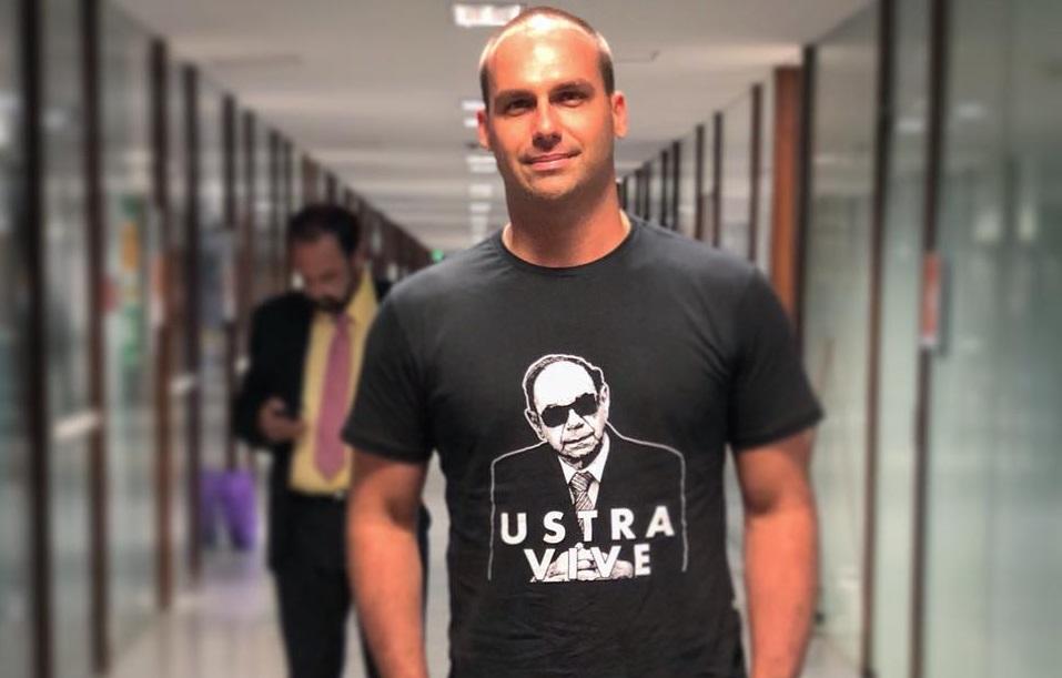 far-right brazil election eduardo bolsonaro colonel carlos alberto brilhante ustra