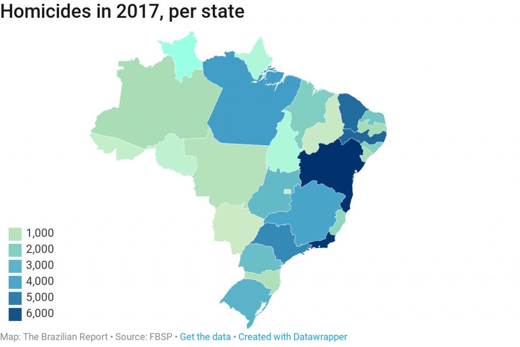violence in brazil murder femicide rio de janeiro drug routes police violence against women states