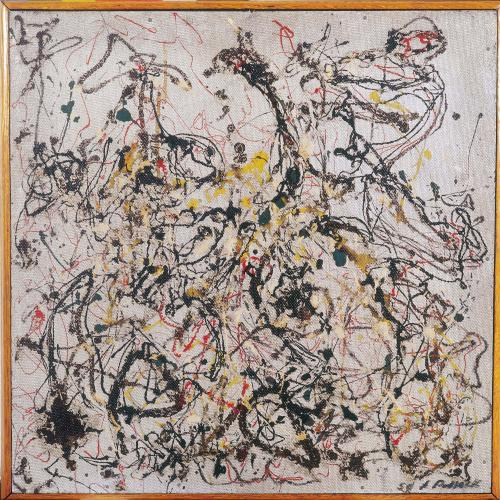 jackson pollock no 16 mam rio for sale