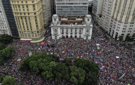women bolsonaro demonstration