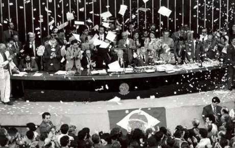 Under threat, Brazil's Constitution celebrates 30 years