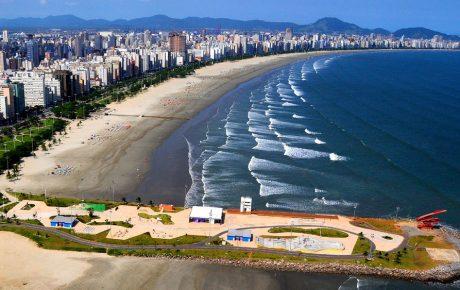 brazilian coast santos