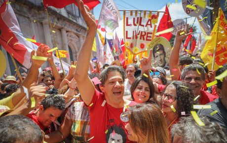 Workers' Party Fernando Haddad in Recife