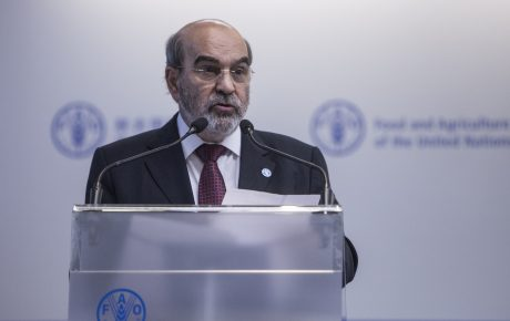 josé graziano da silva FAO boss: in a place that produces so much food, hunger is a crime