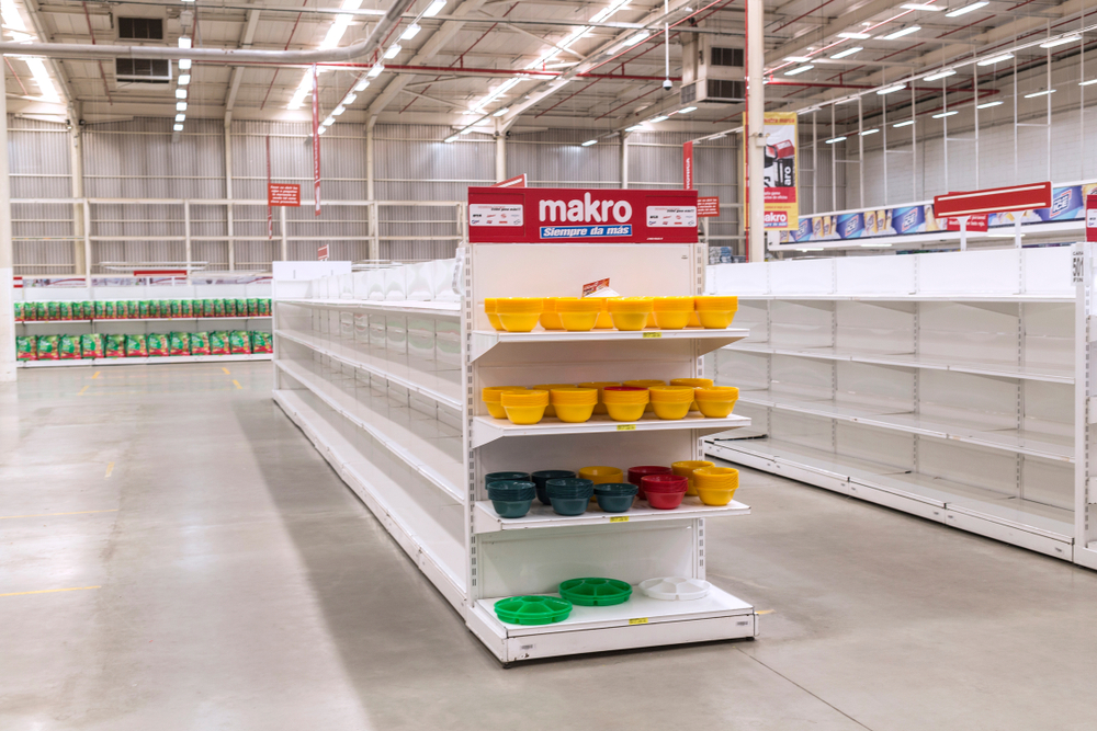 Crisis and hyperinflation in Venezuela cause a shortage of food