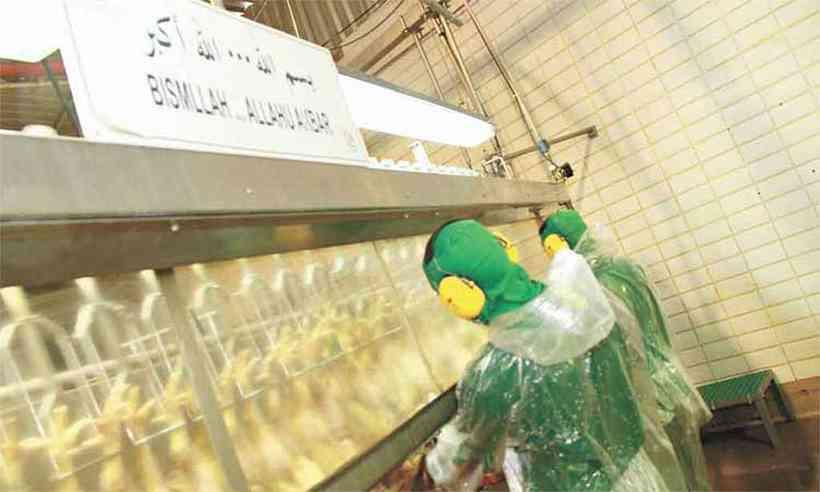 Halal meat plant brazil