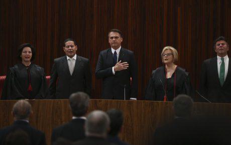 Bolsonaro calls for harmony in certification speech