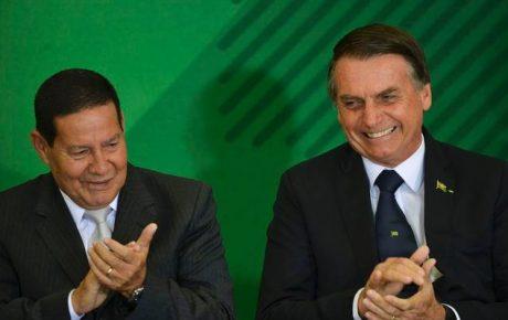 Mourão vice president Bolsonaro