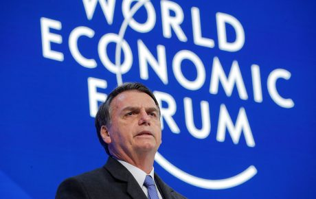 Taking only a fraction of the time he was allotted, Jair Bolsonaro failed to impress any of the financial elites in his international debut davos