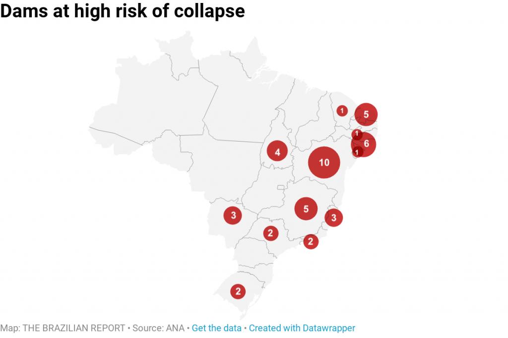 brumadinho collapse dam collapse