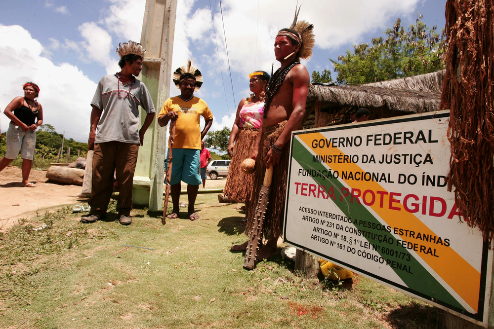In Brazil, indigenous groups clash with mining companies in 400 areas