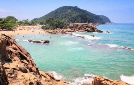 Costa Verde (Green Brazilian Coast) near Paraty
