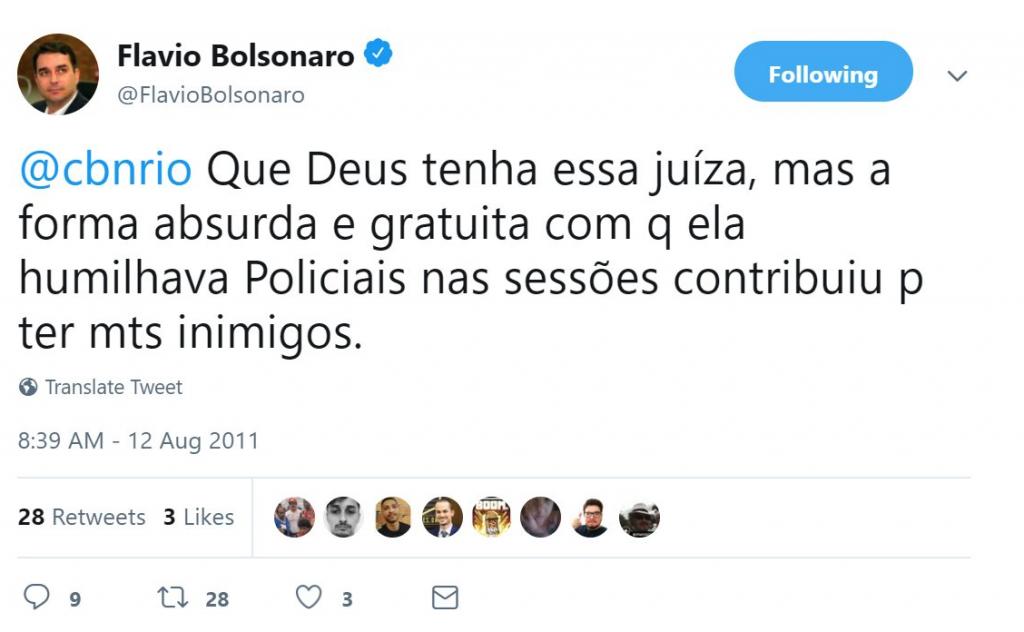 flavio bolsonaro untouchables death squads