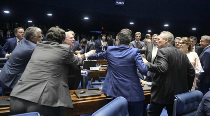 renan calheiros senate president brazil