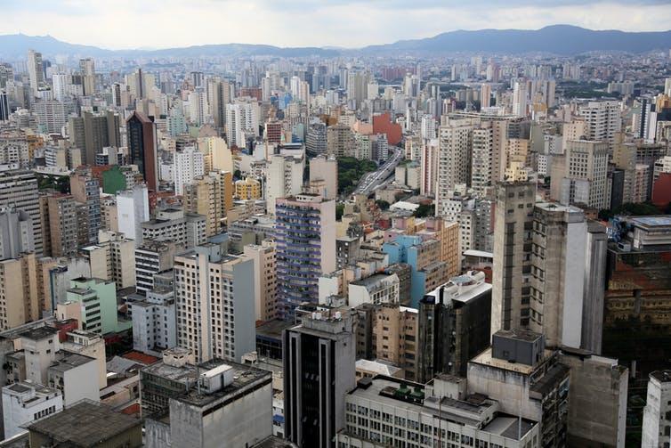 são paulo brazil city center