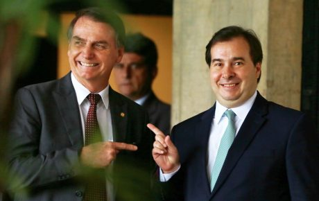 President Jair Bolsonaro and House Speaker Rodrigo Maia