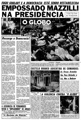 How the Brazilian press covered the 1964 military coup