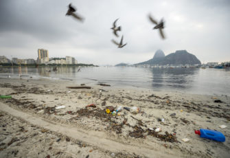 When money goes to waste: pollution in Brazilian beaches