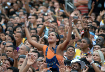 Oxfam polled thousands of Brazilians on their perception of the problems facing their country, one-third quote religion as a way to improve their lives.