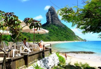 tourism, one of the best beaches in Fernando de Noronha