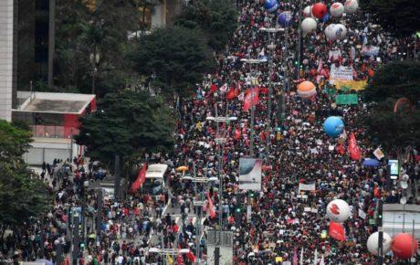 Anti-government protests spread around Brazil