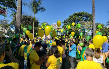 bolsonaro demonstrations